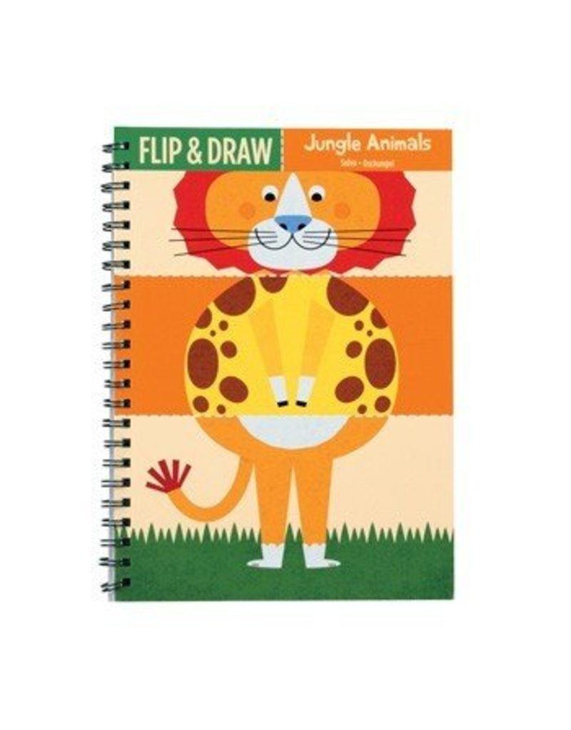 Flip and Draw Jungle Animals