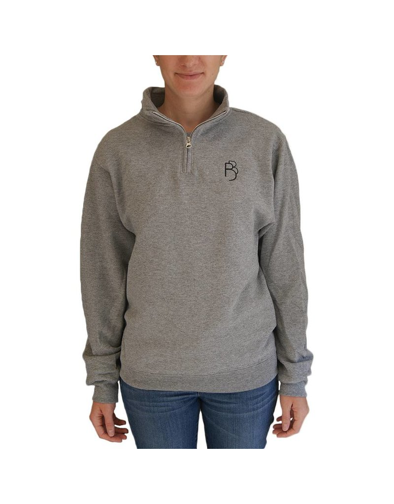 1/4 Zip Sweatshirt Adult