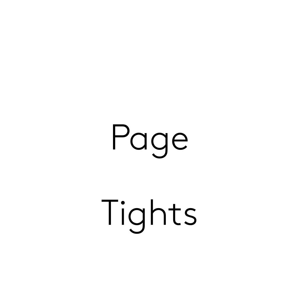 Tights: Page