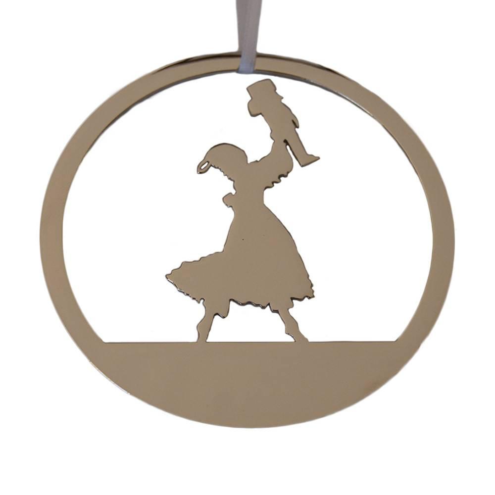 Nickel Ornament: Clara
