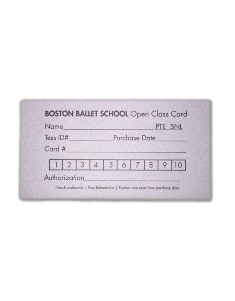 BBS 10 Class Card