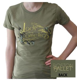 Lady of the Camellias Fitted Tee