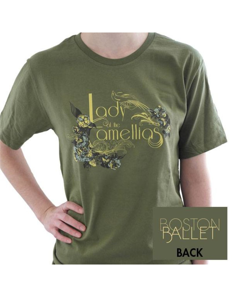 Lady of the Camellias Classic Fit Small Tee