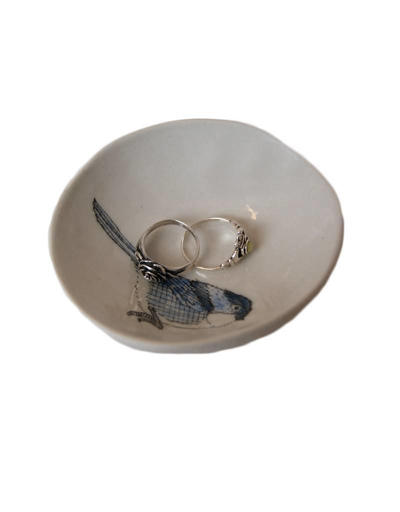 Chickadee Jewelry  Dish