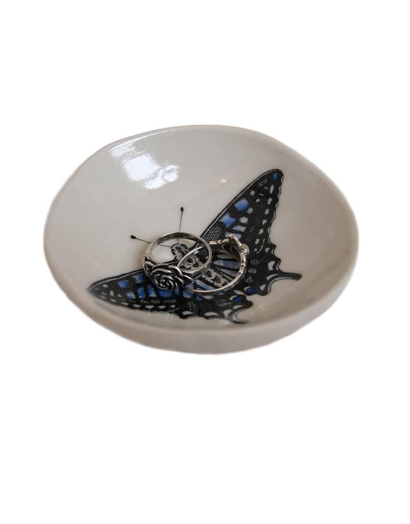 Swallowtail Jewelry Dish