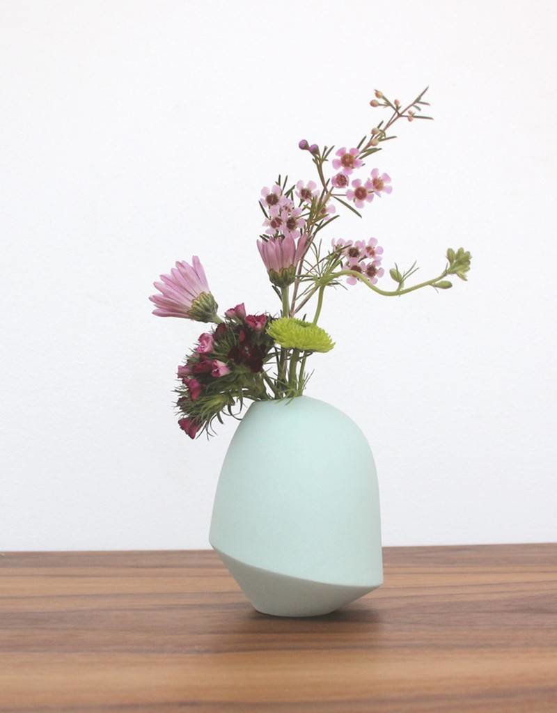 Matte Birdie Vase