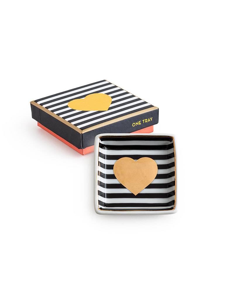 Heart Square Dish