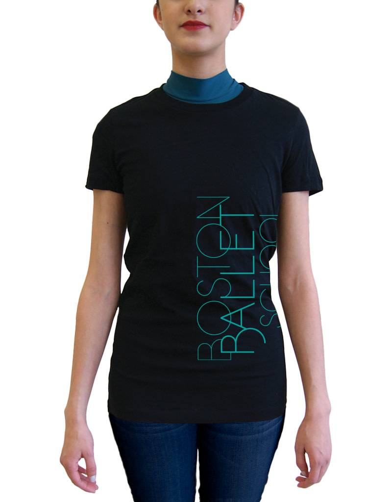 BBS Fitted Tee Teal