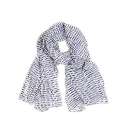 Scarf: Navy Dot