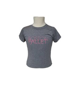 Boston Ballet Youth Tee Pink
