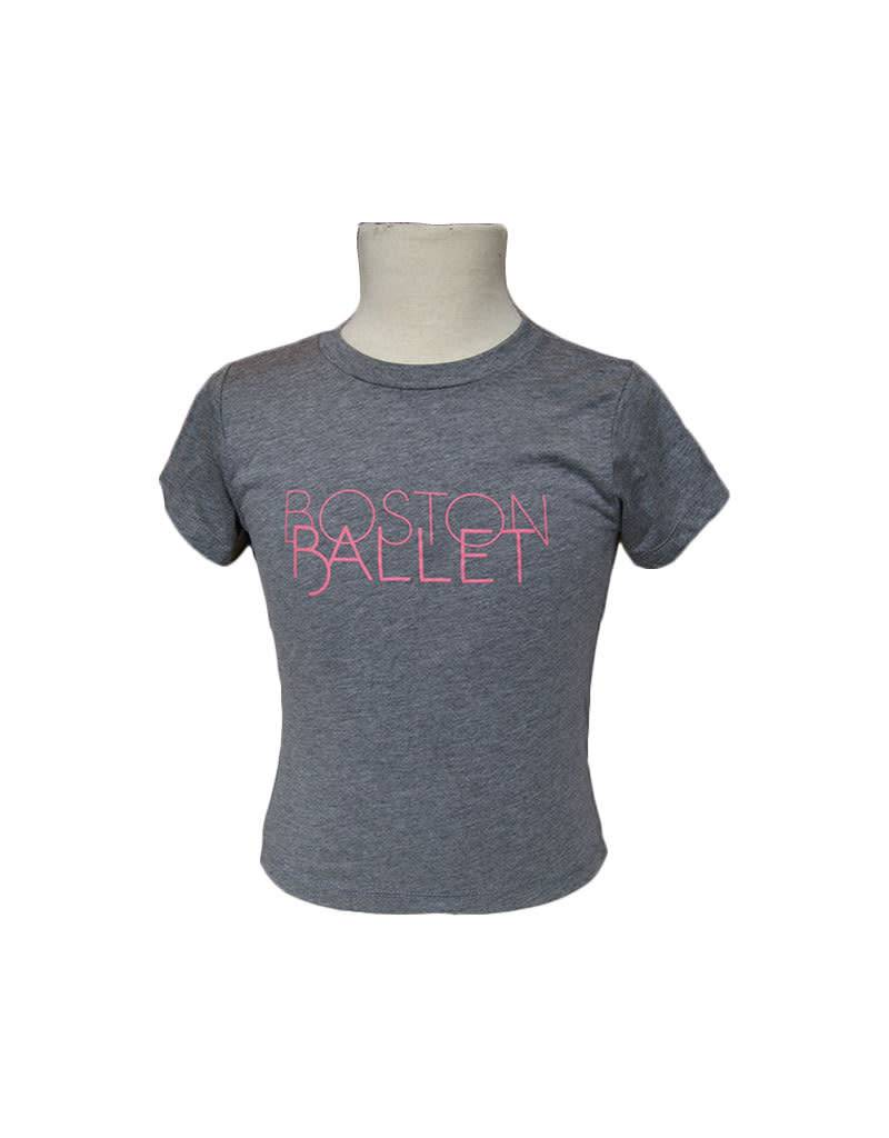 Boston Ballet Youth Tee Pink