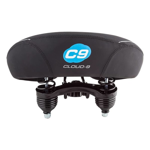 CLOUD-9 SADDLE C9 CRUISER CONTOUR SOFT TOUCH VINYL BK