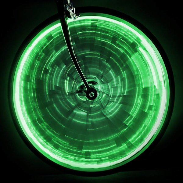SUNLITE LIGHT SUNLT WHEEL GLOW f/ONE-WHEEL GN