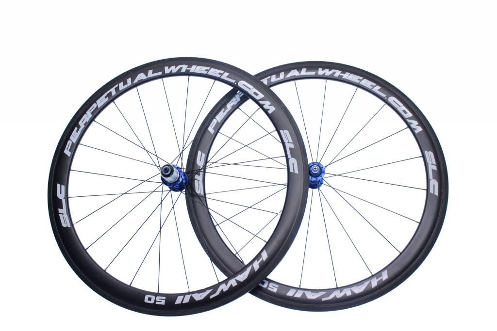 Perpetual wheel roue  ppw carbone Hawaii 50mm arriere