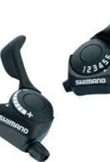 Shimano Top push bouton bleu SHIFT LEVER SET, SL-TX30, TOURNEY 7R&L(FRICTION) 2050X1800MM INNER, 600X600X300MM BLACK OUTER, IND.PACK
