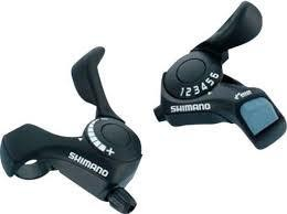 Shimano SHIFT LEVER SET, SL-TX30, TOURNEY 7R&L(FRICTION) 2050X1800MM INNER, 600X600X300MM BLACK OUTER, IND.PACK
