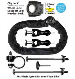 Pin Head cadenas PINHEAD 5 PACK WITH CITY LOCK