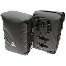 sac de velo SEYMOUR DLX 45 - GRIS/NOIR