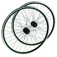 Roue arriere FR.DAMCO 700 BLK 2X WALL, Boulon