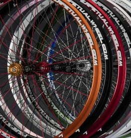 Perpetual wheel Roue ppw arriere 24T-700c- rouge
