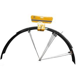 garde boue Sunny wheel PLASTIC MUDGUARD 700C BLACK hybrid