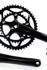 Pédalier prowheel solid 2 plateaux-170mm