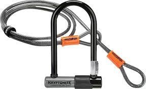 Kriptonite KRYPTOLOK SERIES 2 STD w/4' FLEX CABLE