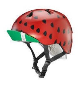 BERN casque Bern, Nina, Helmet, Satin Red Strawberry, XSS