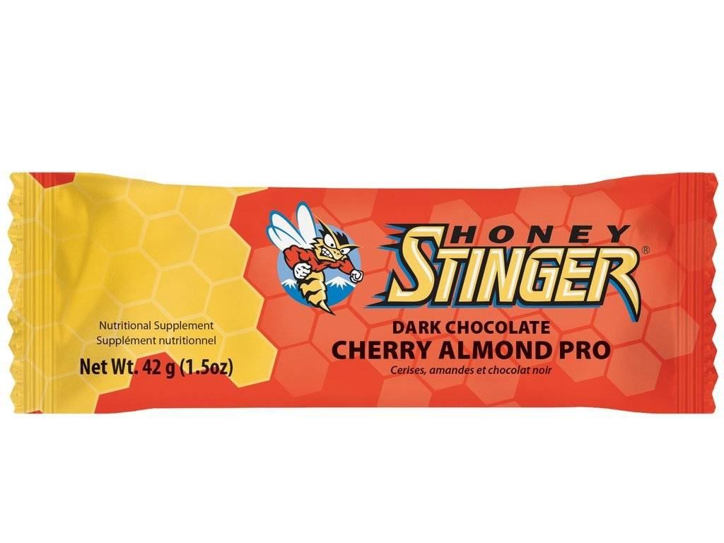 Honey Stinger, 10g Protein Bars, 42g, Amandes et Cerises