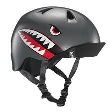 BERN Bern, Nino, Helmet, Satin Grey Flying Tiger