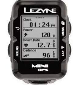 Lezyne, Mini GPS, Cyclocomputer, Unit