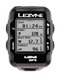 Lezyne, Mini GPS, Cyclometre, Unite, Avec HR