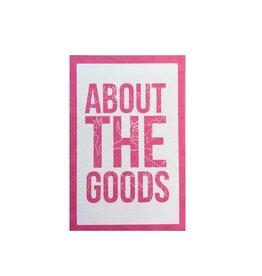 About The Goods Tropical Frame Sticker