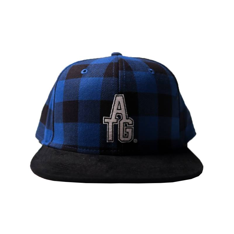 About The Goods Royal Buffalo Check Snapback