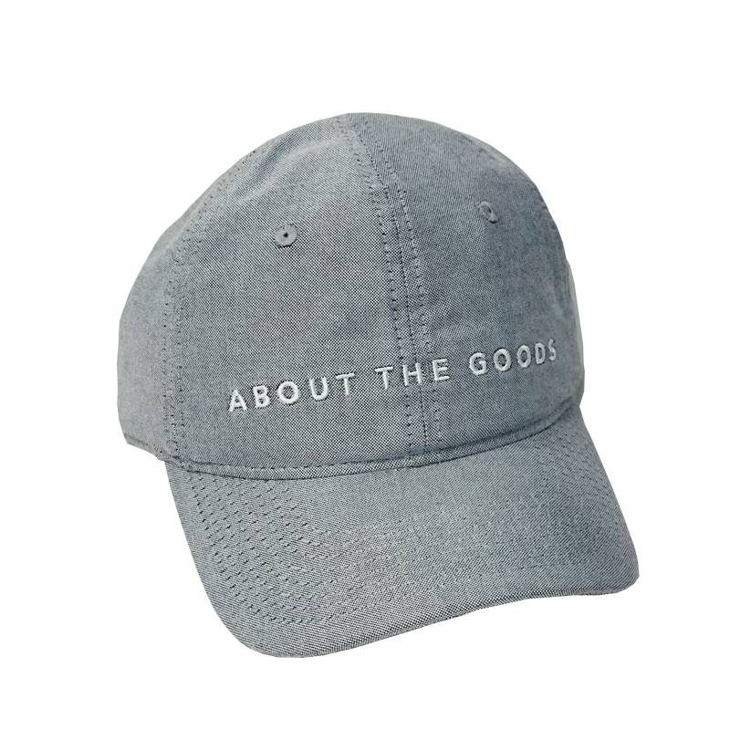 About The Goods Chinatown Logo Six Panel Hat
