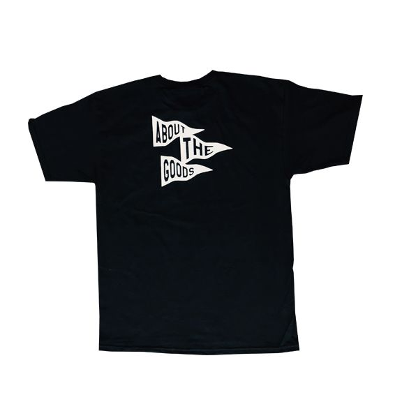 About The Goods Flagship Black Tee