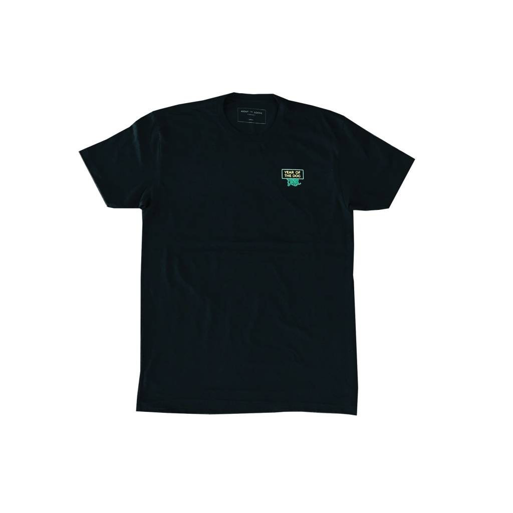 About The Goods Year of the Dog Black Tee