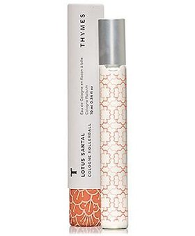 Thymes Lotus Santal Cologne roller