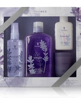 Thymes Lavender gift set
