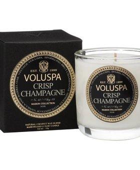 Voluspa Crisp Champagne Votive Boxed decorative