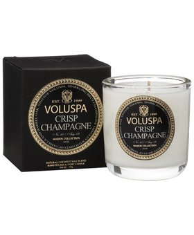 Voluspa Crisp Champagne Votive Boxed decorative