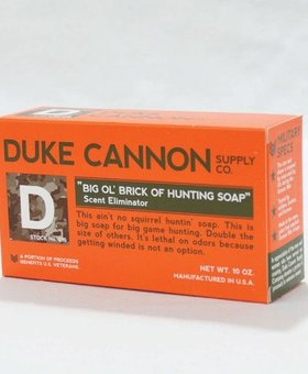 Duke Cannon Big 'Ol Brick of Hunting Soap,