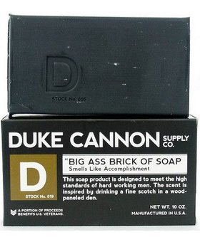 Duke Cannon Smells Like Accomplishment