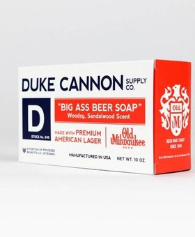 Duke Cannon Big Ass Beer Soap - Duke Cannon
