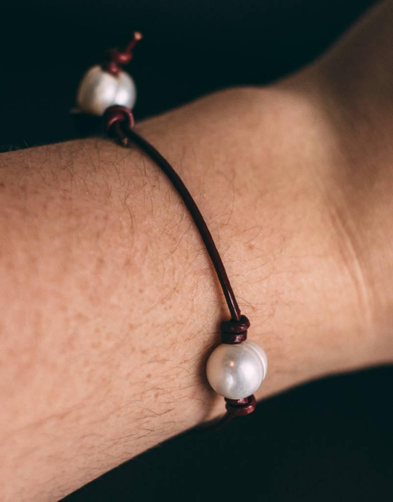 Fresh Water Pearl - Cord Bracelet