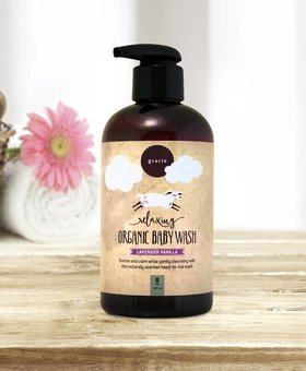 Gracie Naturals Gracie Naturals Relaxing Baby Wash-Lavender Vanilla
