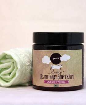 Gracie Naturals Gracie Naturals Baby Cream- Lavender Vanilla