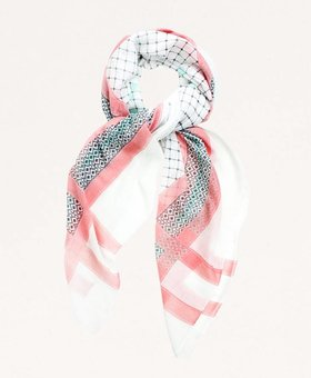 Look by M Print Rose Scarf~ Look By M