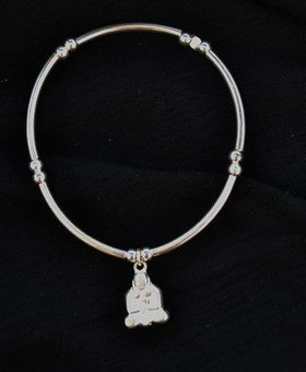 Saraswati Silver Silver Charmer Buddha Body