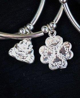 Saraswati Silver Silver Charmer Clover